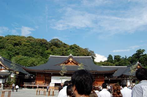 11.6.30大神神社空と雲