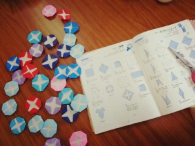 クリスマス 折り紙 朝顔 折り紙 : kaigotime.blog.fc2.com