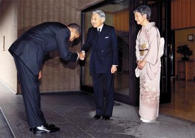 オバマの礼
