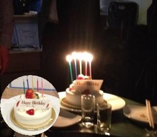 4.16アジュンの日バースデーケーキ