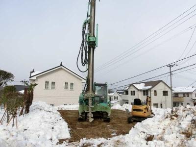 鎌田工務店 地盤改良