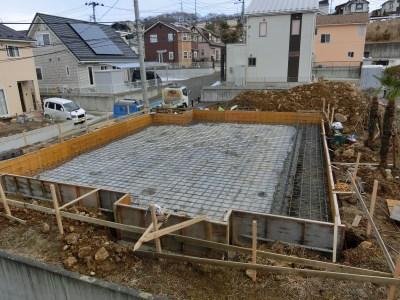 鎌田工務店 基礎工事