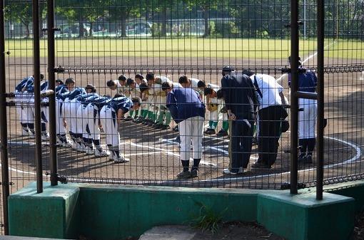 1 相手は横浜市中区の強豪山手メイツさん。