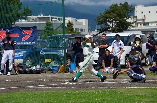 日ハム一回戦⑤三塁強襲の一撃が飛出し一点先制!