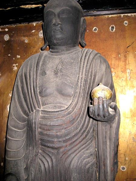 法華寺町・地蔵菩薩立像