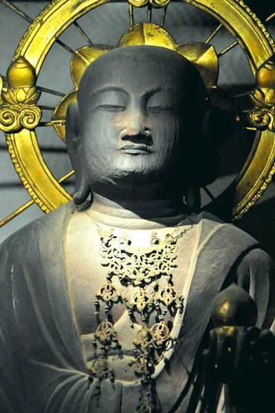 観音寺・地蔵菩薩立像上半身
