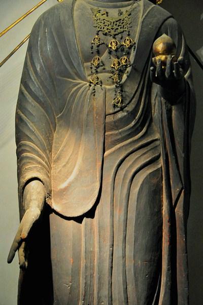 観音寺・地蔵菩薩立像衣文