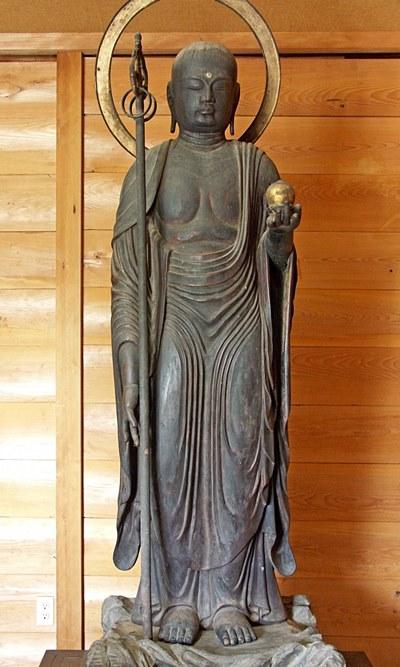 下永区廃白米寺・地蔵菩薩立像
