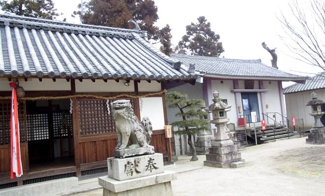 下永区・八幡神社境内