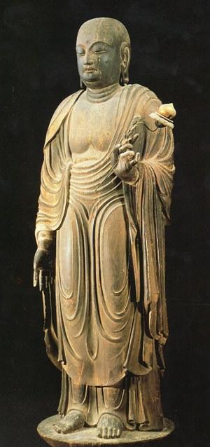 法隆寺(大御輪寺伝来)・地蔵菩薩立像