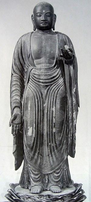 原良三郎氏旧蔵・地蔵菩薩立像