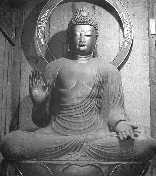 保福寺・釈迦如来坐像~「仏像集成」掲載写真