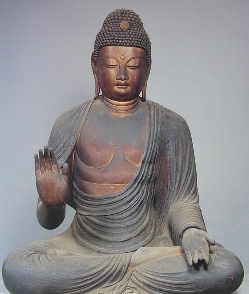 保福寺・釈迦如来坐像~「ブッダ展」図録掲載写真(1998)