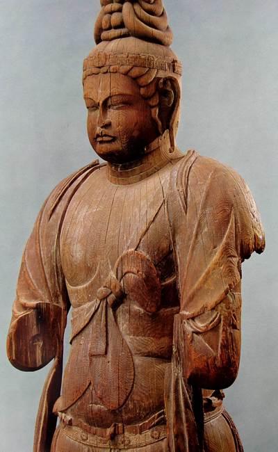 唐招提寺講堂・伝衆宝王菩薩像