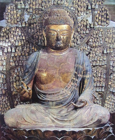 唐招提寺・盧舎那仏坐像(脱活乾漆像)