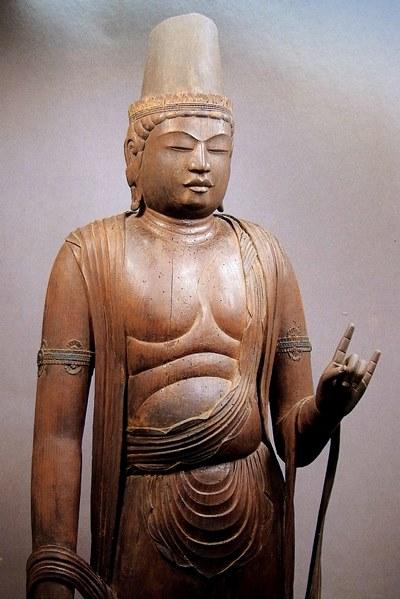常念寺・菩薩立像