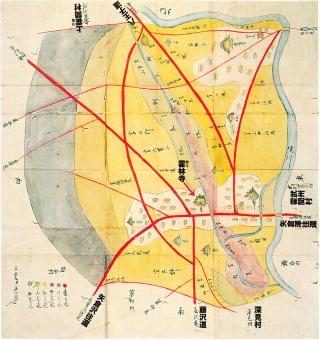 相州下鶴間村:文久二年戌年改メ村方図