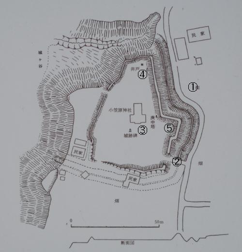 重清城地図