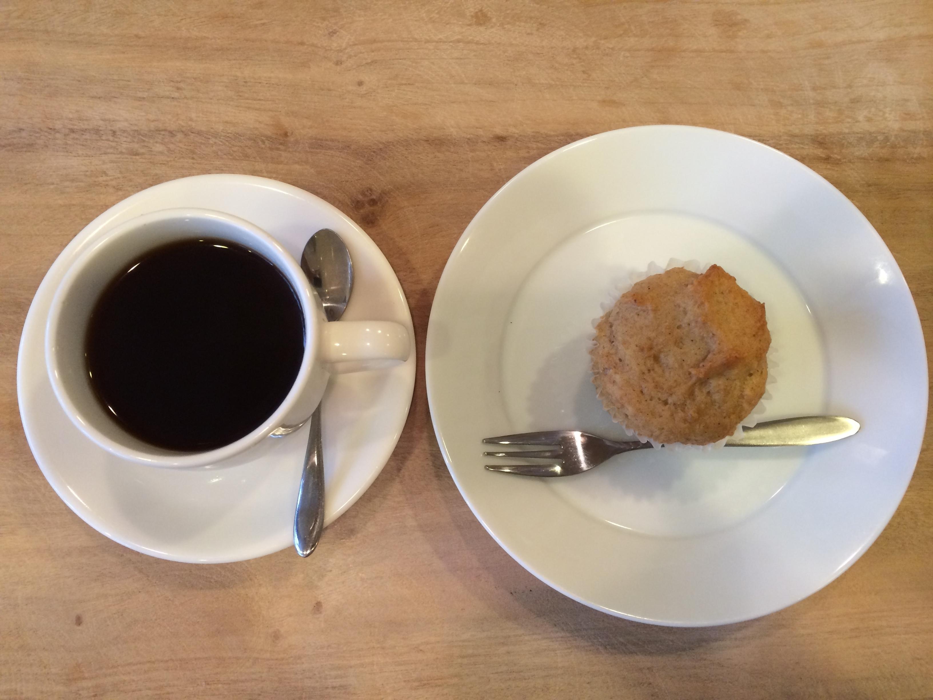 GIMME SHELTERマフィンコーヒー