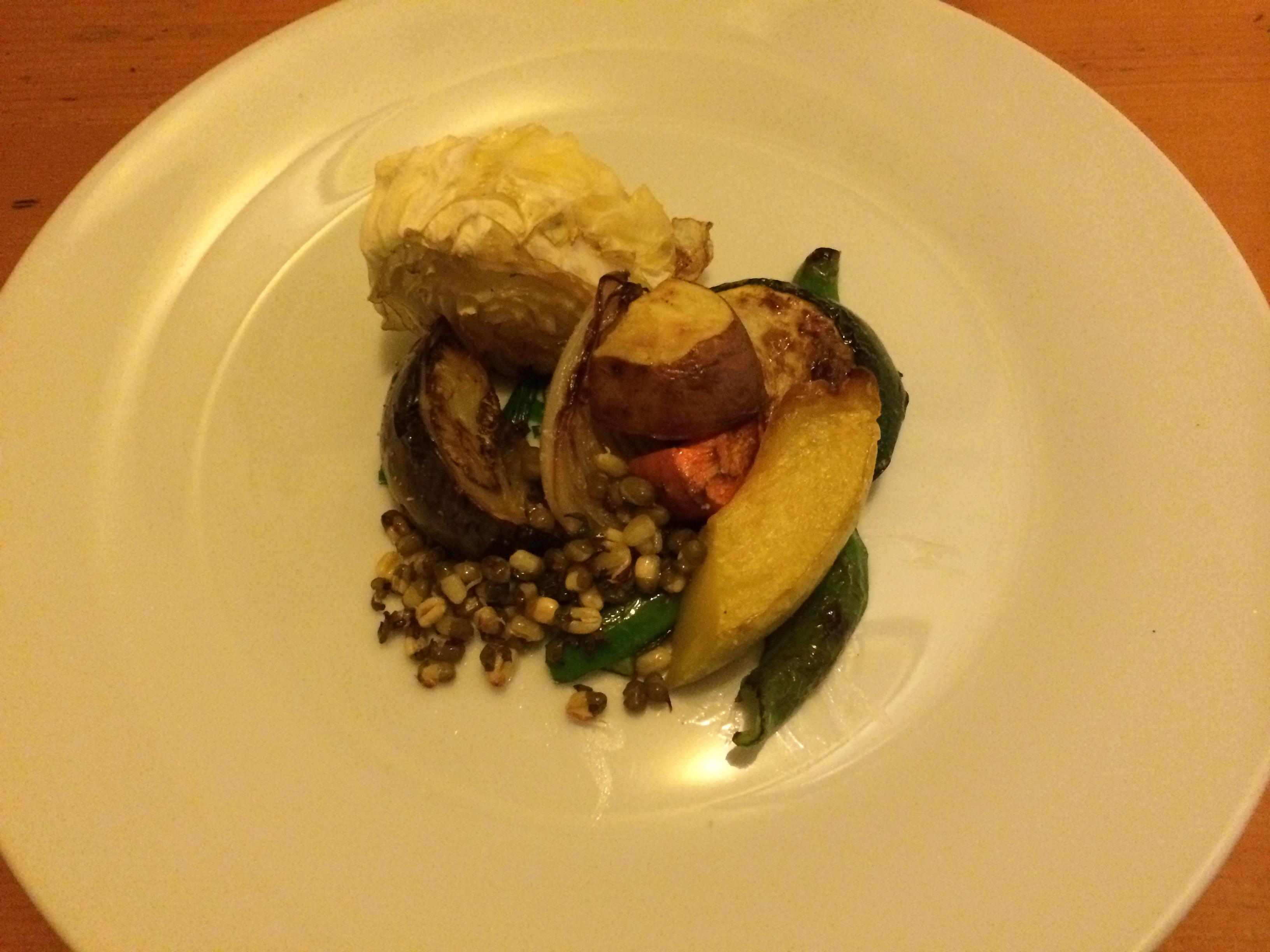 Bistro la fourchette美山野菜のオーブン焼き