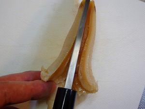 白ミル貝の捌き方21