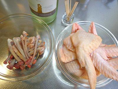 鶏手羽先のきのこ詰め トマトソースと白ワイン煮12