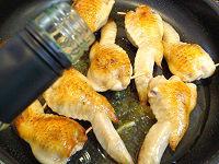 鶏手羽先のきのこ詰め トマトソースと白ワイン煮21