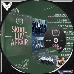 BTS(防弾少年団) 2ndミニアルバム - Skool Luv Affair汎用