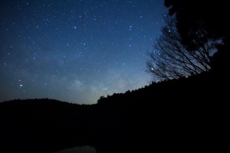 6457湖面の北斗七星