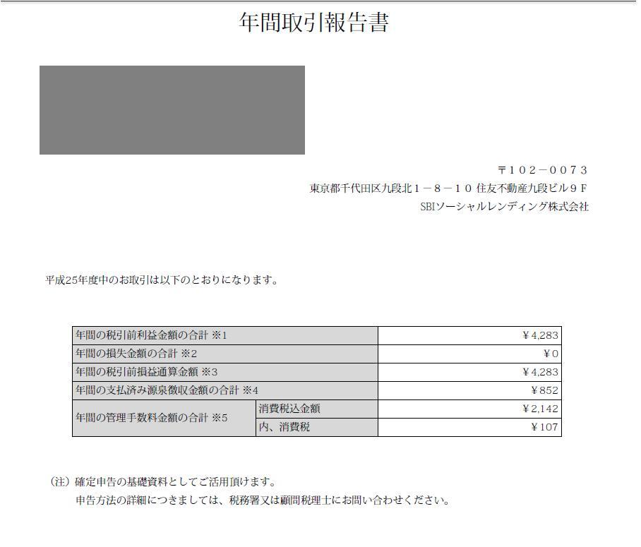 確定申告資料(SBI)20140219
