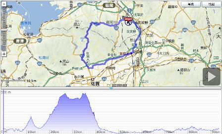 三瀬峠コース