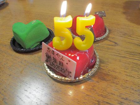 平成26年お誕生日ケーキ2