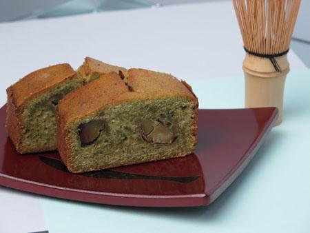 抹茶のパウンドケーキ2