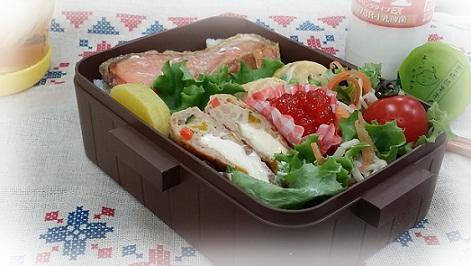 塩鮭のっけ弁当