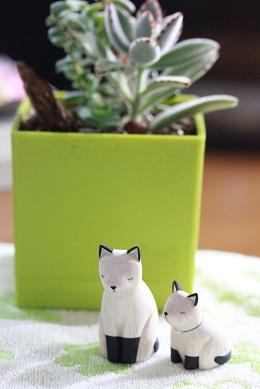 ぽれぽれアニマル *Siamese cat*