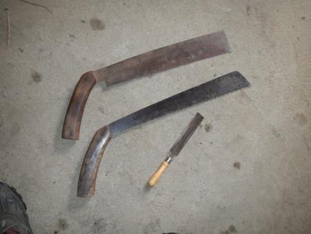 鋸の刃研ぎ
