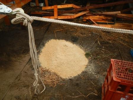 ポット養土作り (1)