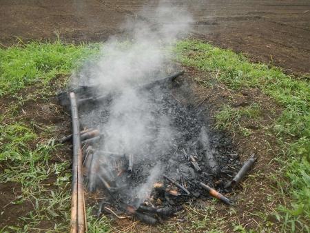 竹炭作り (7)