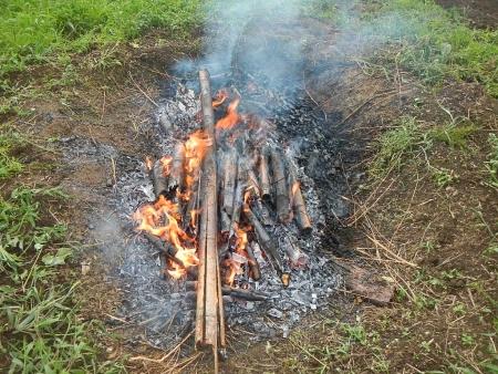 竹炭作り (6)