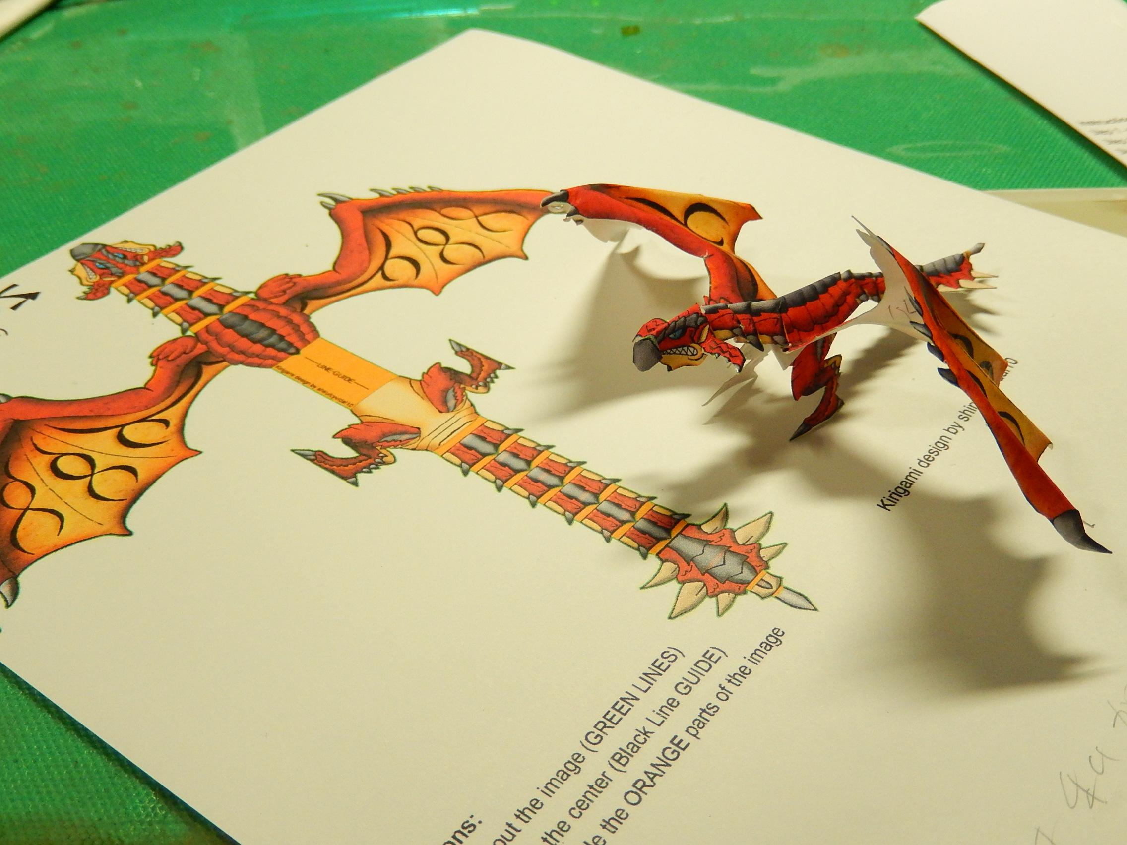 すべての折り紙 簡単恐竜折り紙 : 2014年04月 - 切り折り紙な日々