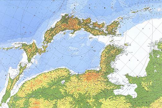 東アジア地図