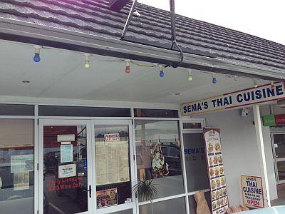 クライストチャーチ タイ料理 4semas thai cuisine