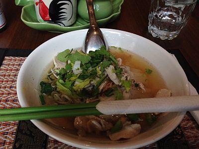 クライストチャーチ タイ料理1 semas thai cuisine