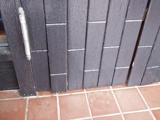 玄関ドア修理  (1)