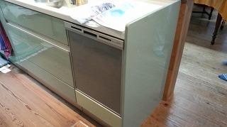 食洗機設置工事 (6)