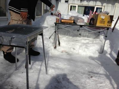 20140303 焼肉準備