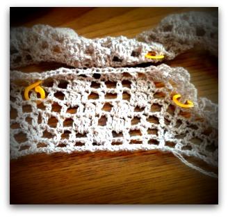 20140307 中国の編み物本からスカートを編む