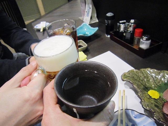 2014.2.11 P副会長と打ち合せ@季節料理よじま!(^^)!