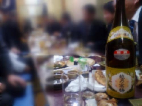 2014.2.13 久々のなんばで旨い日本酒を頂きました。(^^)v