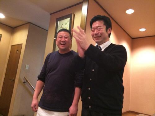 2014.2.25 長田の平壌冷麺屋川西店で新長田軍団の定例会でしたヽ(^o^)丿